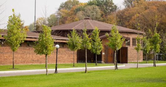 фото территории загородного клуба