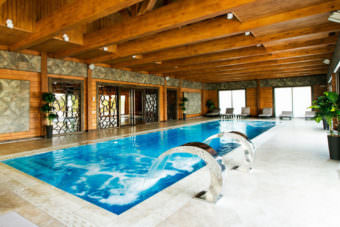 бассейн wellness центра
