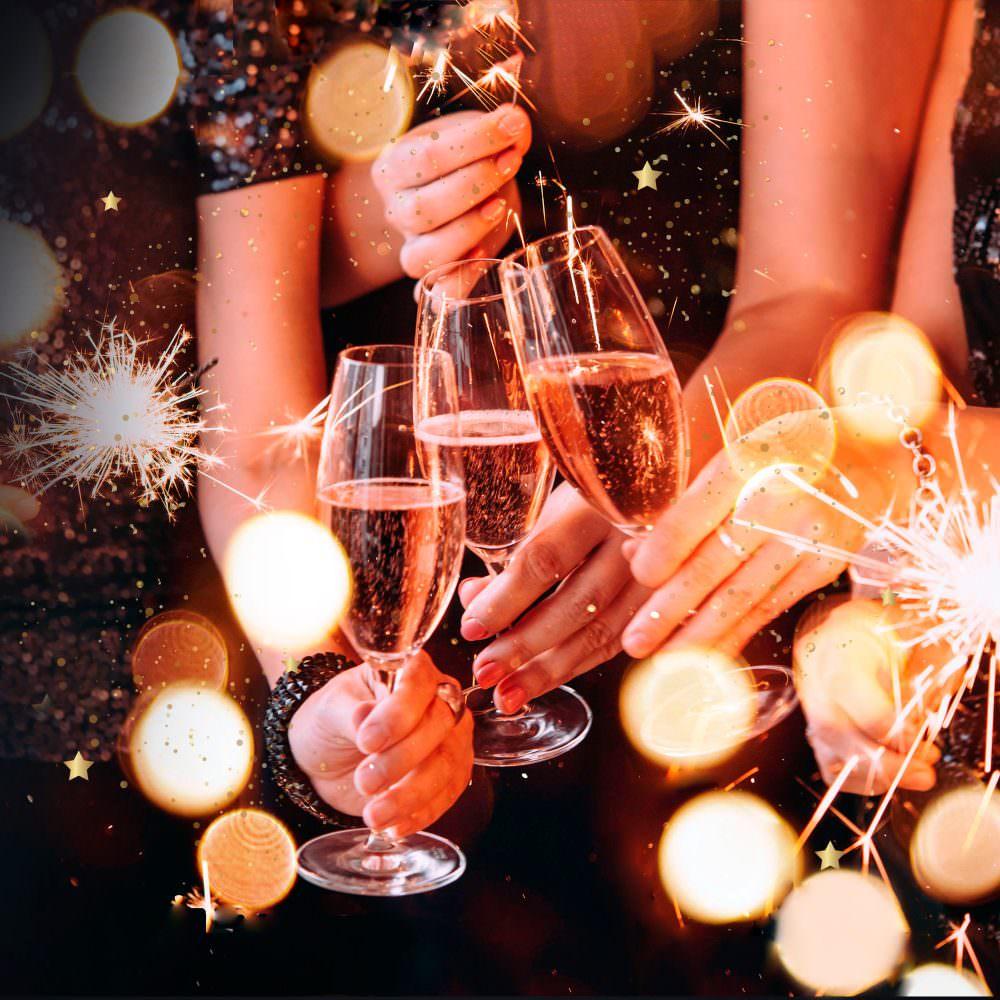 конечно, картинка встречаем новый год вместе между камнями есть